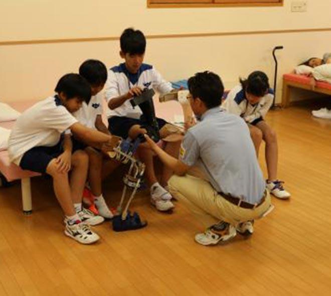 当院からのお知らせ_職場体験学習『わくわく湊山』:湊山中学校2年生