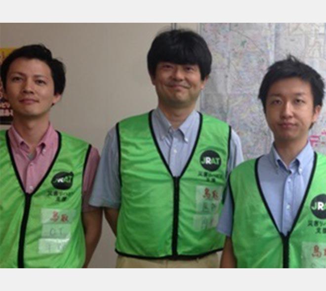 当院からのお知らせ_熊本地震被災に対する大規模災害リハビリ支援関連団体協議会(JRAT)の現地活動に職員を派遣