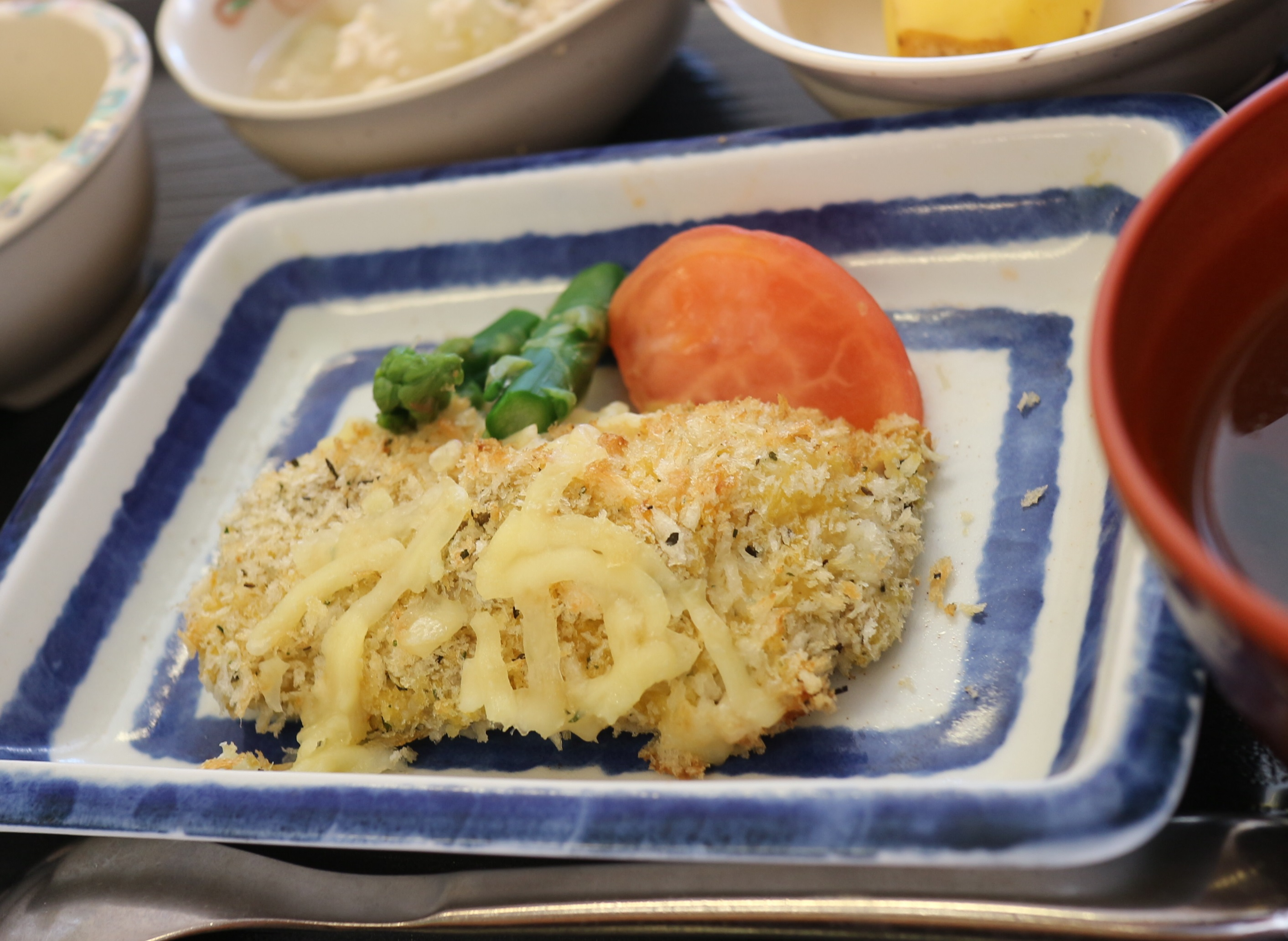 シイラの香草チーズ焼き