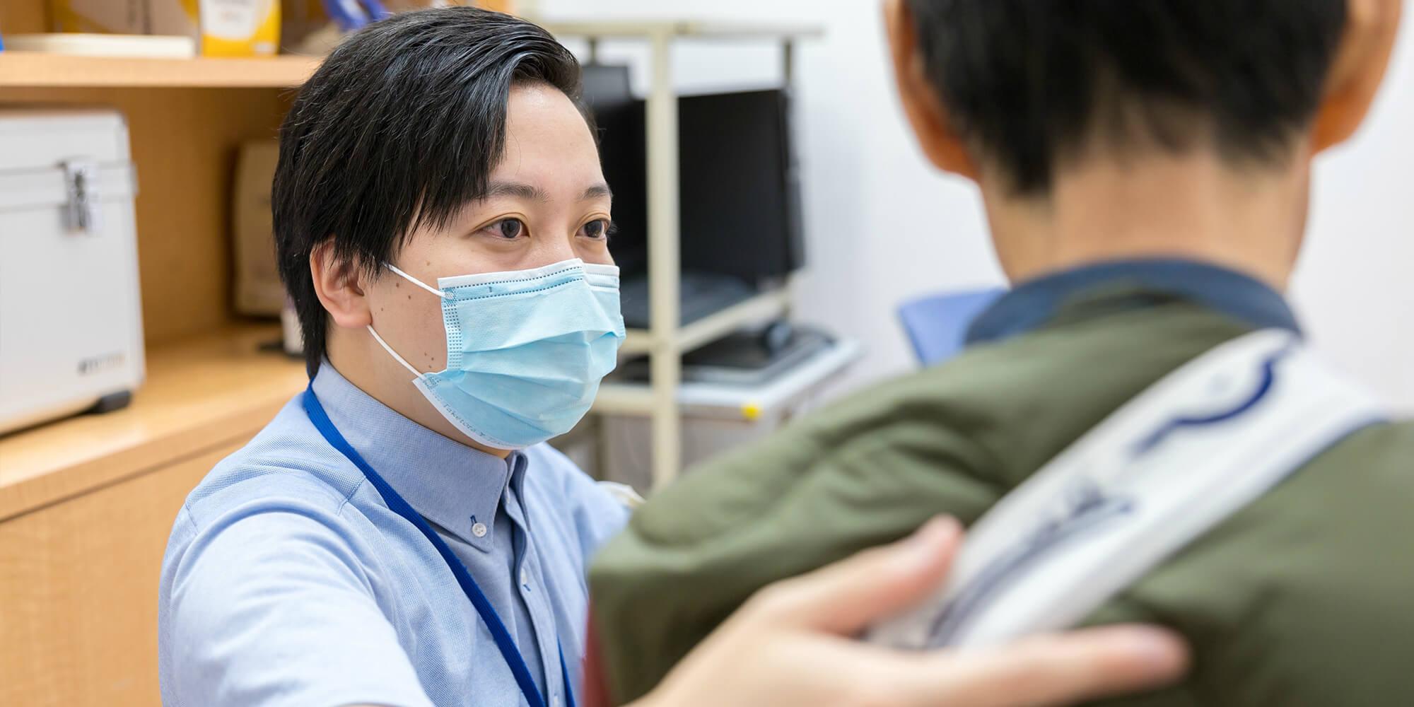 再び、住みなれた地域で自分らしく。わたくしたちは、回復的リハビリテーション医療と地域連携を通して患者さんの社会参加を支援します